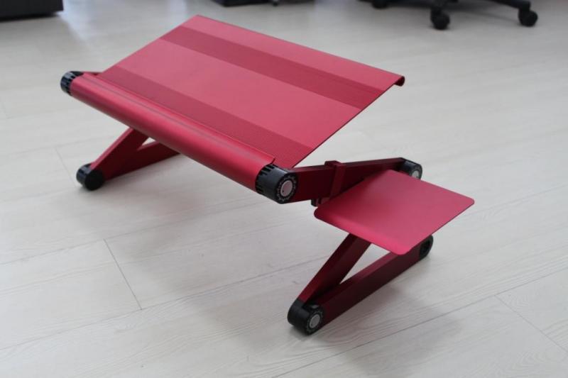 โต๊ะวางโน๊ตบุ๊ค แบบพับได้ ขาสามจังหวะ, Modern Laptop Desk with